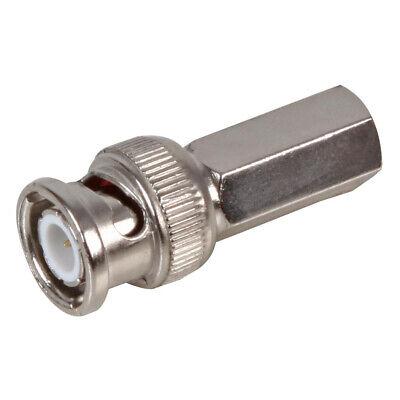 BNC Twist-On Solderless Coaxial Male Plug Connector Bnc-twist