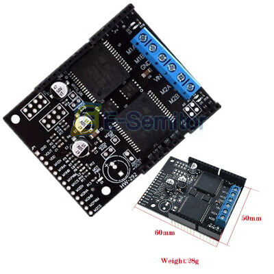 Dc 30a Vnh5019 Motor Drive Shield Dual H Bridge Controller Protection Module