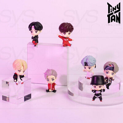 BTS TinyTAN Official Authentic Goods Monitor Figure 7SET + Tracking Number