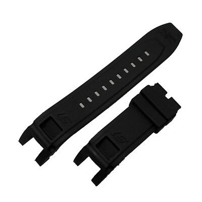 New Rubber Black Watch Band Strap For Invicta S1 Rally 0899