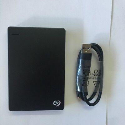 Seagate Backup Plus Slim 160GB USB 3.0 HDD Portable External  Hard Drive Balck
