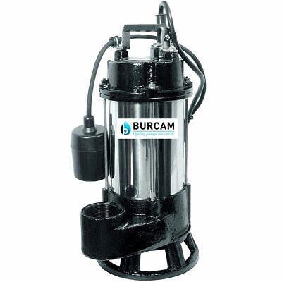 Burcam Pumps 34 Hp Heavy Duty Cast Iron Stainless Steel Sewage Pump 2 W ...