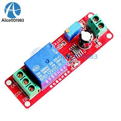 Ne555 Delay Module Shield Timer Switch Dc 12v Adjustable 0 To 10 Second