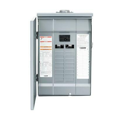 Square D 100 Amp 20 Space 40 Circuit Outdoor Main Load Center Breaker Panel (Square D 100 Amp Outdoor Load Center)