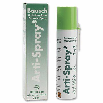 Bausch BK288 Arti-Spray Occlusion Articulating Indicator Spray Green 75 mL
