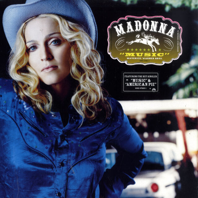 "Madonna - Music (Album, Reissue) 12"" Vinyl LP NEU+OVP!!!"