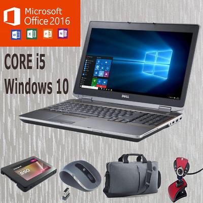 Laptop Windows - ULTRA FAST WINDOWS 10 DELL CORE i5 E6420/E5420 LAPTOP MULTICOLOURS UPTO 1TB HDD