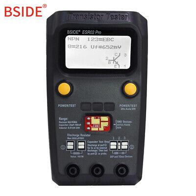 Bside Esr02 Pro Digital Transistor Smd Components Diode Tester Usa