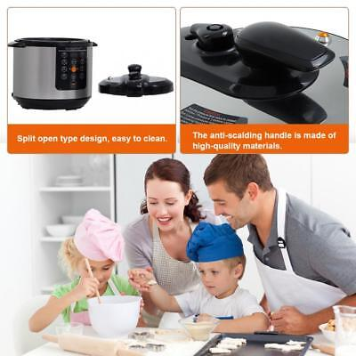 Electric Pressure Cooker 6Qt rice Cooker Slow Cooker, Multi-Use Programmable Home & Garden