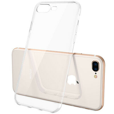Best Buy For iPhone X/8/7 Plus Clear Case Shockproof Hybrid Slim Soft TPU - Best Iphone Clear Case