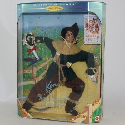 Mattel - Barbie Doll - 1996 Collector Edition Ken as The Scarecrow in Wizard of