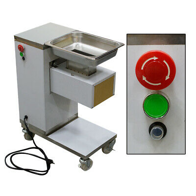 Home Use 110v Commercial Meat Slicer Machine 304 Stainless Steel With 3mm Blade