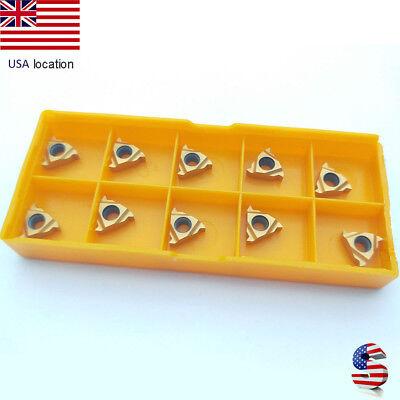 Us- 10pcs 11er A60 Bp010 Cnc Tool Lathe Carbide Insert For Steel