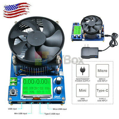 150w 10a Constant Current Electronic Battery Capacity Electronic Load Tester