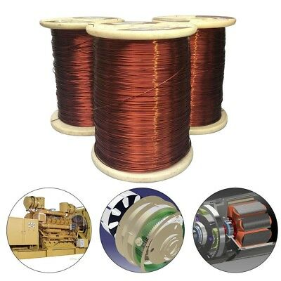 100g Magnet Wire 0.13-1.25mm Enameled Copper Wire Round Magnetic Coil Winding