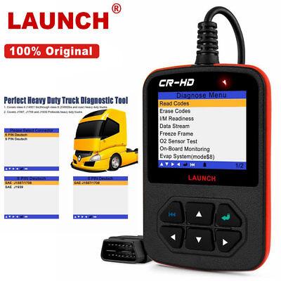 Original LAUNCH CR-HD Heavy Duty Diesel Truck Scanner Car Diagnostic Scan Tools