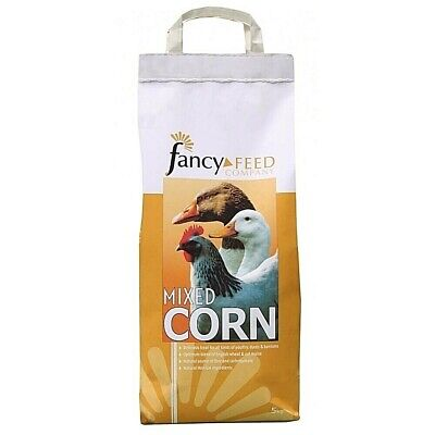 Poultry Mixed Corn Food Pigeon Chicken Duck Natural 5kg Gm Free Feed Treat Uk