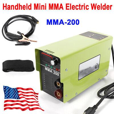 Mma-200 Inverter Welding Machine Arc Welder Igbt Electric Solder 110v220v