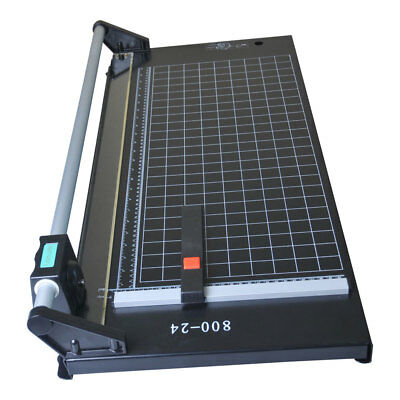 24 Manual Precision Rotary Paper Trimmer Sharp Photo Paper Cutter Machine Usa