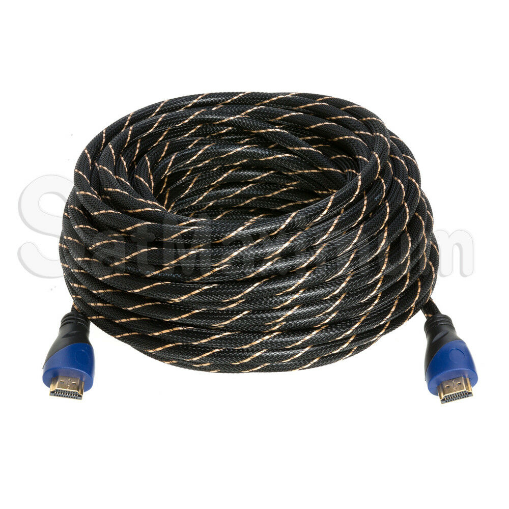 HDMI CABLE PREMIUM HIGH SPEED 1.4 Wire BLURAY 3D DVD HDTV HD Gold Plated - LOT