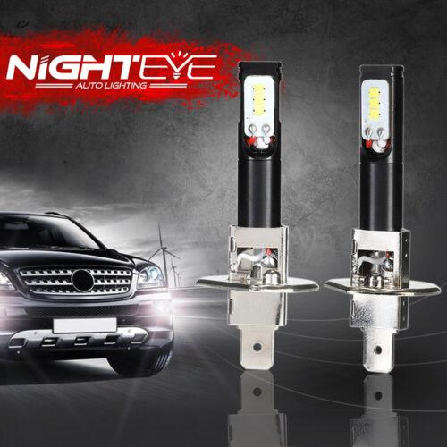 Nighteye H1 160W LED Nebelscheinwerfer Leuchte Birne DRL Lampen Fog Light Weiß