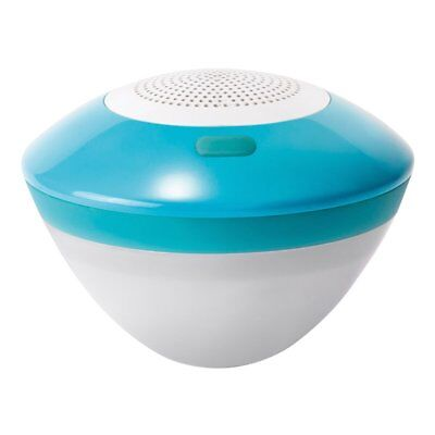 Intex Floating Bluetooth Speaker with LED Light, links to Smartphones, Tablets..