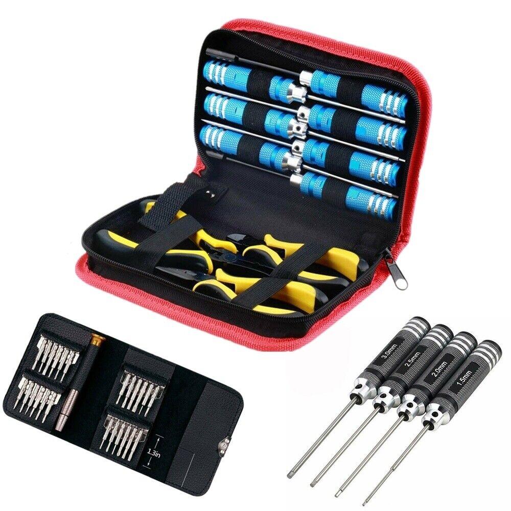 Hobby-Ace Tool Set: 4in1 Hex Screwdriver /26in1 RC Repair Se