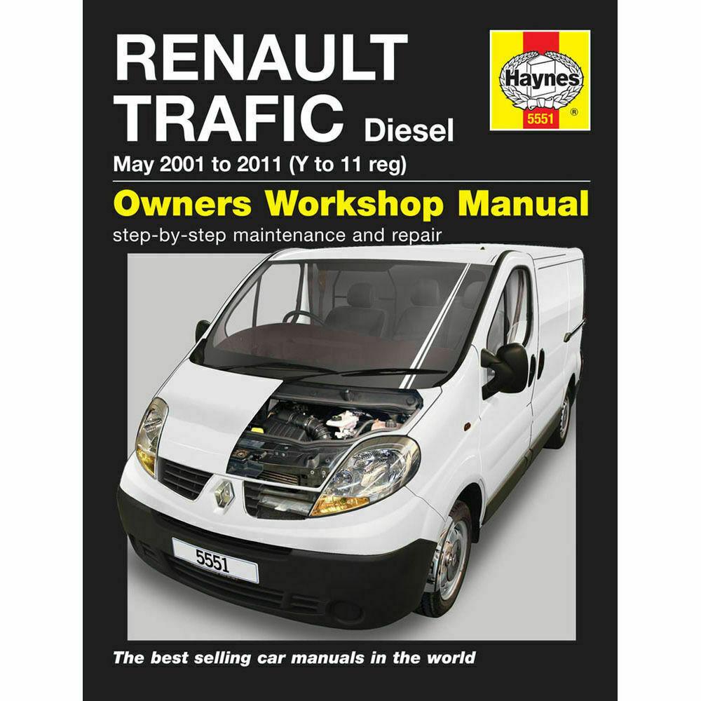 Haynes Manual 5551 Renault Traffic Diesel Service & Repair Manual 2001-2011