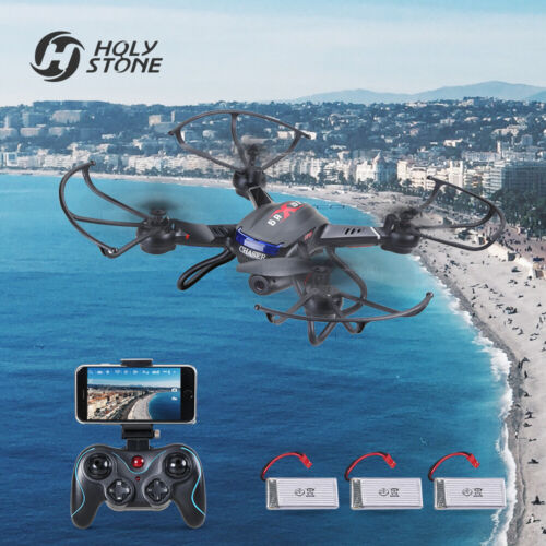 Holy Stone RC Drone HD WIFI 120° Camera Quadcopter Altitude hold with 3 Battery