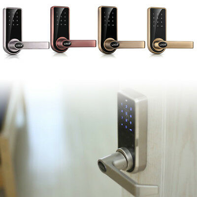 Electronic Smart Keyless Door Lock Code Keypad Security Entry 5 RFID Card Tag (Electronic Keypad Keyless Entry)