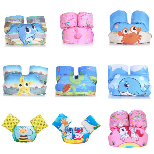 Hot Puddle Jumper Swimming Deluxe Cartoon Life Jacket safety Vest for Kids Baby