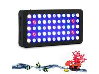 165W LED Aquarium Light Dimmable Spectrum Coral Reef Marine Tank Fish Lamp Panel