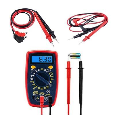 Universal Silicone Digital Multimeter Multi Meter Test Lead Probe Wire Pen Cable