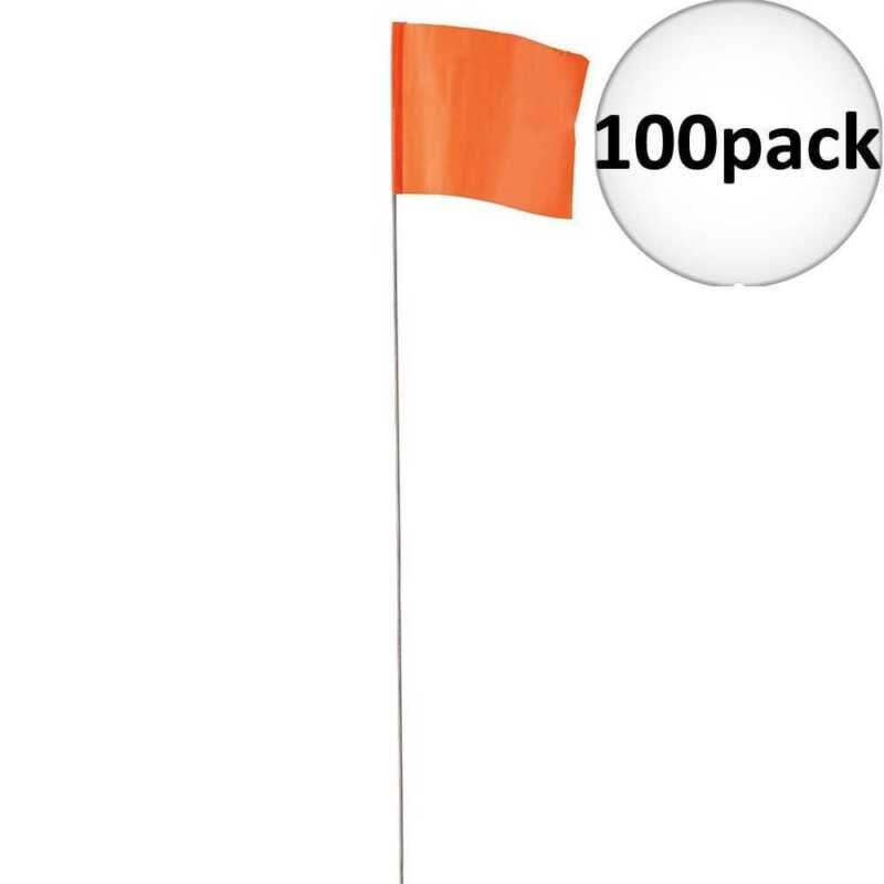 Empire 78-002 Orange Stake Flag 100pk