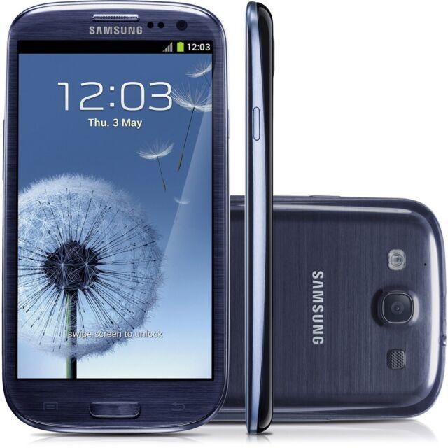 Samsung Galaxy S3 III GT-I9300 16GB Smartphone 4G~UNLOCKED~ Pebble Blue Grade A