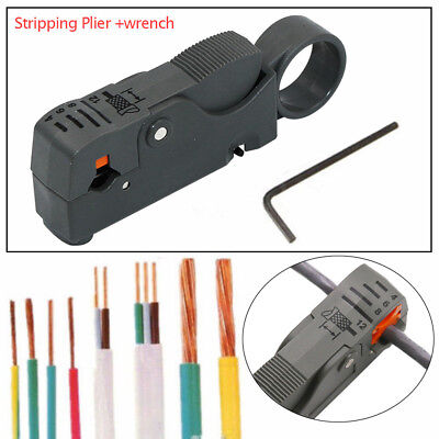 Automatic Stripping Plier Cable Stripper Tools Double Blades Stripped Wire Auto
