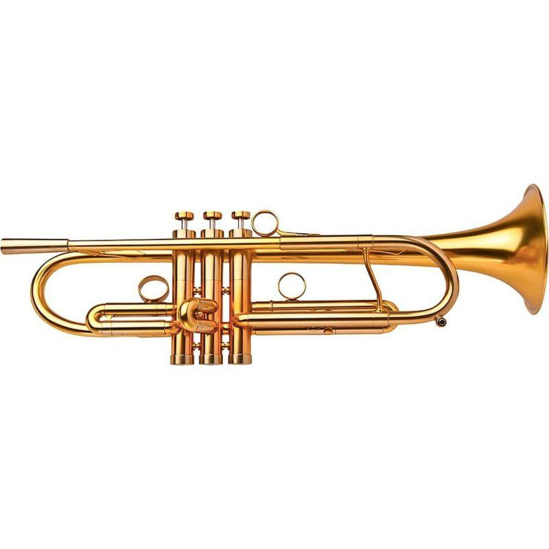 Adams A4LT Selected Professional Bb Trumpet Satin Gold Lacquer 194744266010 OB