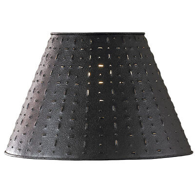 12 Diameter 10 Lamp (Punched Tin Lamp Shade - Dot Dash Pattern by Park Designs 10