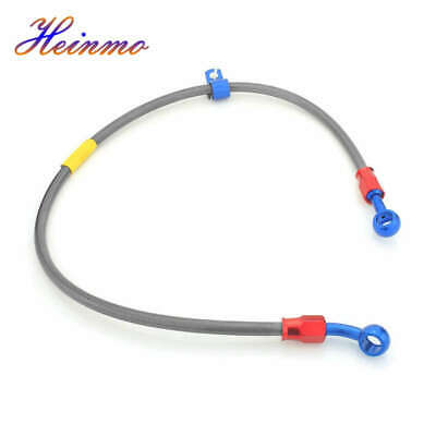 100CM Motorcycle Brake Clutch Oil Hose Line Pipe Hydraulic Reinforced Universal