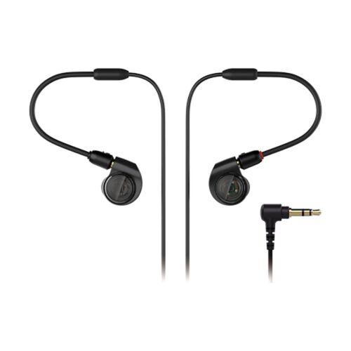 Audio-Technica ATH E50 In-Ear Headphones Black ATH-E50