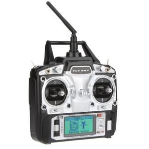 Flysky FS-T6 2.4G 6CH Mode 2 Transmitter W/Receiver For RC Quadcopter Car P1K2