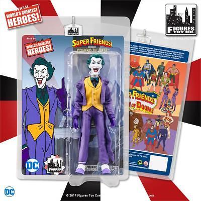 DC Super Friends Legion of Doom JOKER 8 inch retro styled action figure NEW