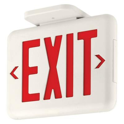 Dual-lite Thermoplastic Led Ac-only Exit Sign