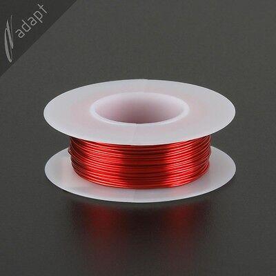 Magnet Wire Enameled Copper Red 22 Awg Gauge 155c 18lb 63ft