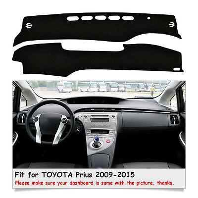 Car Dashmat Dashboard Mat Carpet Sun Shade Cover For TOYOTA Prius 2009-2015 Year