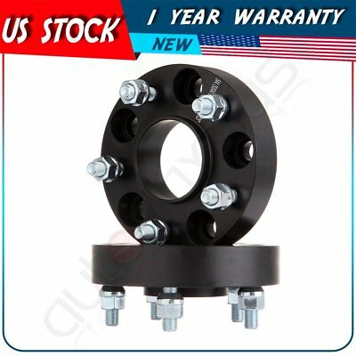 "2Pcs 1.25"" Thick 5x4.75 12x1.5 Wheel Spacers Adapter For 2004-2009 Cadillac XLR"