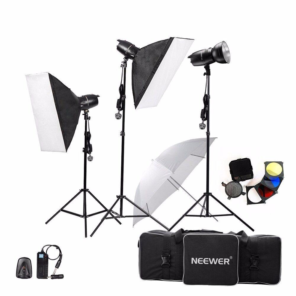 Neewer® 750w (3x250w) Photography Studio Lighting Kit - Strobe Lighting Kit - Used  sc 1 st  Gumtree & Neewer® 750w (3x250w) Photography Studio Lighting Kit - Strobe ... azcodes.com
