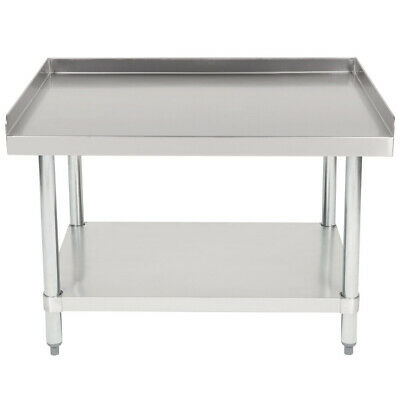 Cmi Commercial Stainless Steel Equipment Grill Stand With Undershelf 30x36