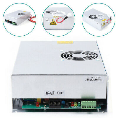 150w Co2 Power Supply Dy20 For Reci W6 W8 Tube Laser Engraver Cutter Machine Top