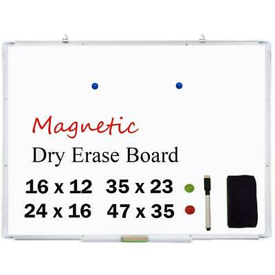 Office Pro Magnetic Dry Erase Board Marker Whiteboard Pens 2x Magnets Eraser